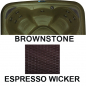 Preview: Interline Dream maker Stonehenge EZ Spa - 3-4 Personen Whirlpool in Brownstone Espresso Rattan-Optik
