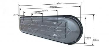 md 7 213 x 53 x 35 cm 300 liter in. Black Bedroom Furniture Sets. Home Design Ideas