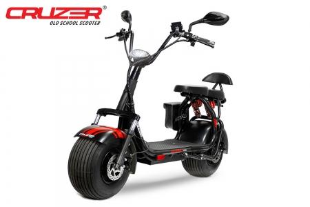 Wenzshopde 1000w 60v Eco Cruzer Lithium On Batterie E Chopper