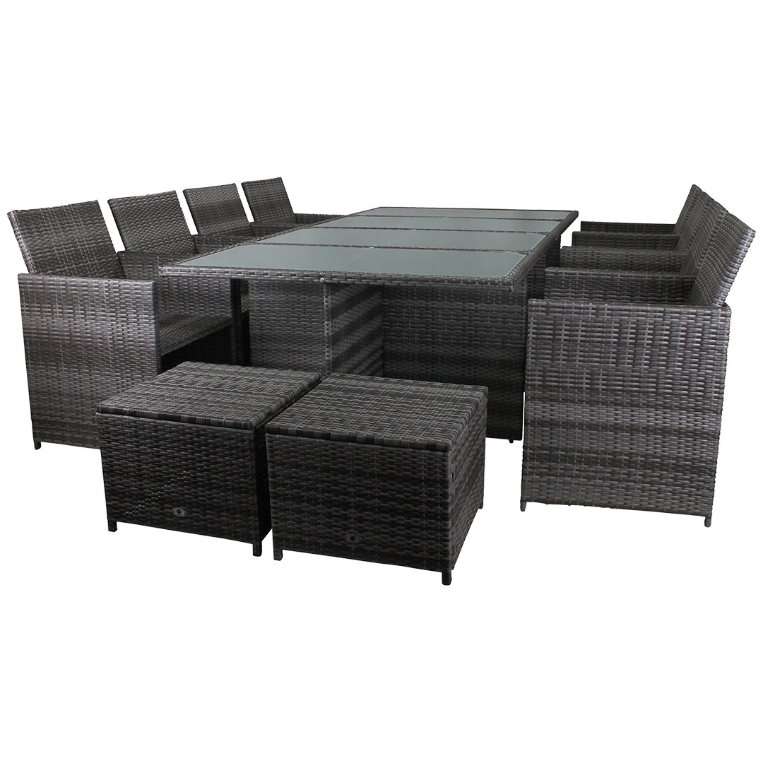 lounge rattan sitzgruppe bahama miweba. Black Bedroom Furniture Sets. Home Design Ideas